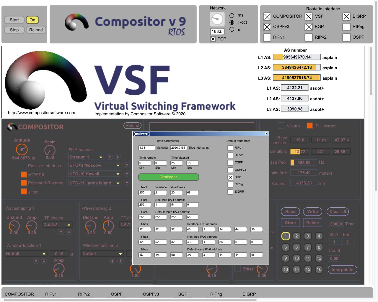 Compositor RTOS 9.0.2